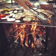 お肉たち お料理教室BBQ編 @ 駒場野公園